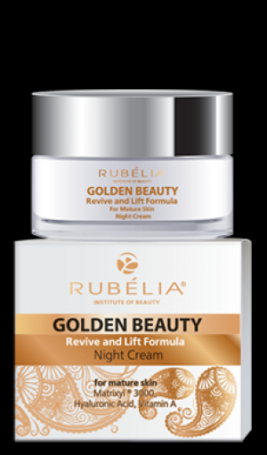 Rubella Golden Beauty 50+ нощен крем