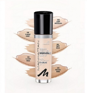 Manhattan Endless Perfection Breathable Make Up Foundation