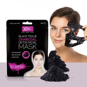XBC Black Tissue Charocal Detox Facial Mask