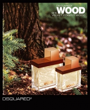DSQUARED² She Wood Velvet Forest Wood for women