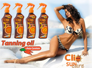 Clio Protective Sun Oil Spray